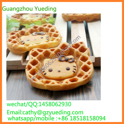 New design 110V 220V electric Commercial Hello kitty animial shaped waffle maker, automatic commercial waffle maker