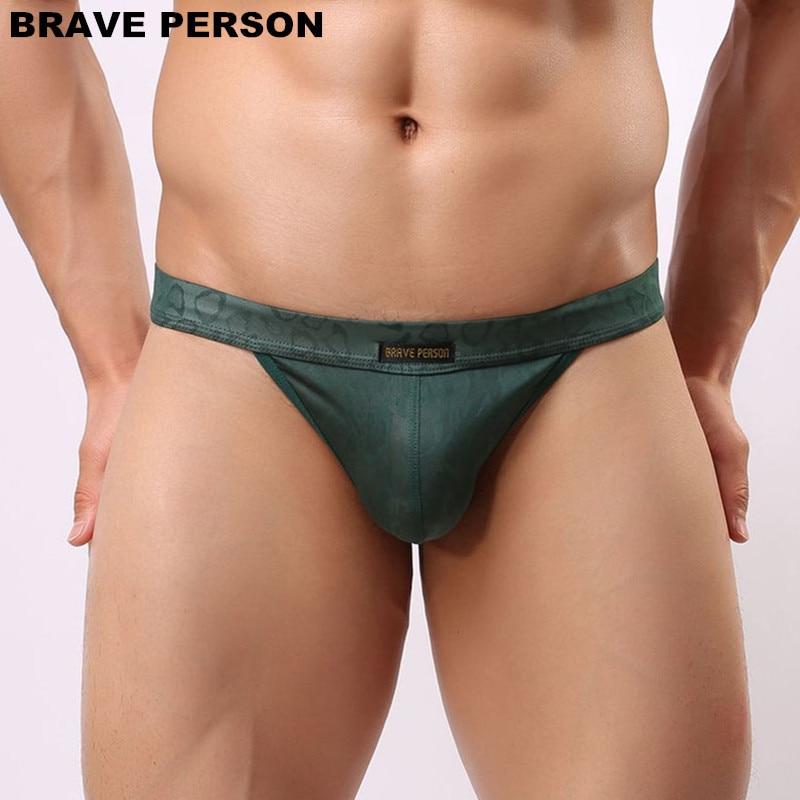 DRAAG PERSOON Mannen Sexy Lace Transparante Persoonlijke Slips Bikini - Ondergoed - Foto 3