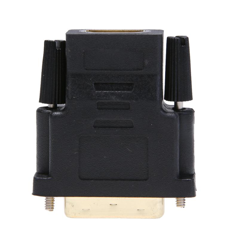 ALLOYSEED High Quality Converter <font><b>Cable</b></font> <font><b>HDMI</b></font> Female to DVI 24+1Pin Male Converter Adapter <font><b>Cable</b></font> Connector Support 1440P 1080P image