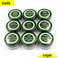 Clapton/Hive/Tiger/Twisted/Mix twisted/Fused clapton coil heating Wire resistance 10 pic/box