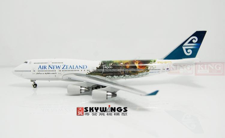 Phoenix 4035 B747-400 ZK-NBV 1:400 Air New Zealand rings commercial jetliners plane model hobby special offer wings xx4232 jc korean air hl7630 1 400 b747 8i commercial jetliners plane model hobby