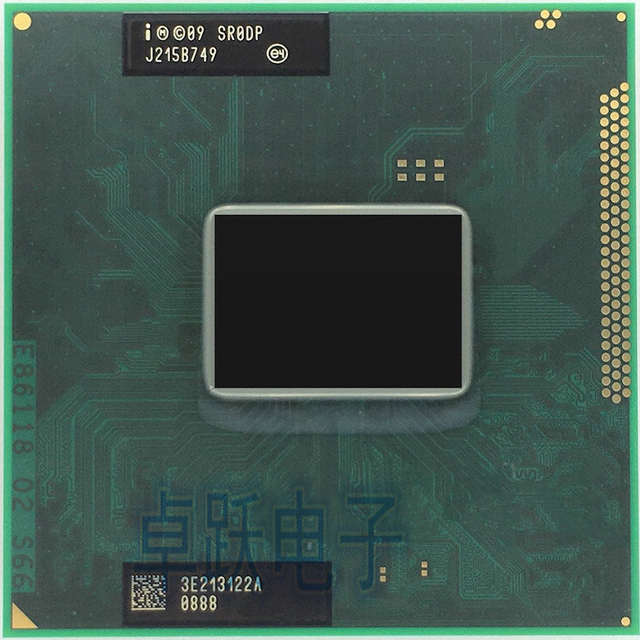 US $22 33 |original Intel Core I3 2370M CPU laptop Core i3 2370M 3M 2 40GHz  SR0DP processor support HM65 HM67-in CPUs from Computer & Office on
