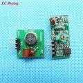 1 par (2 pcs) 433 Mhz Transmissor RF e receptor de link kit Módulo Sem Fio