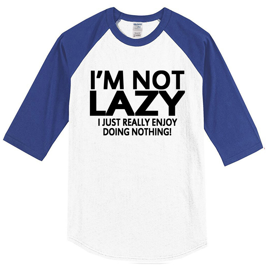 2017 summer T shirt I M NOT LAZY funny casual crossfit brand font b clothing b