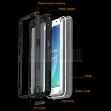 Luxury Water/Dirt/Shock Proof Heavy Duty Armor Hybird Protective Ultra Thin Case Cover Samsung Galaxy S7 G930 G9300