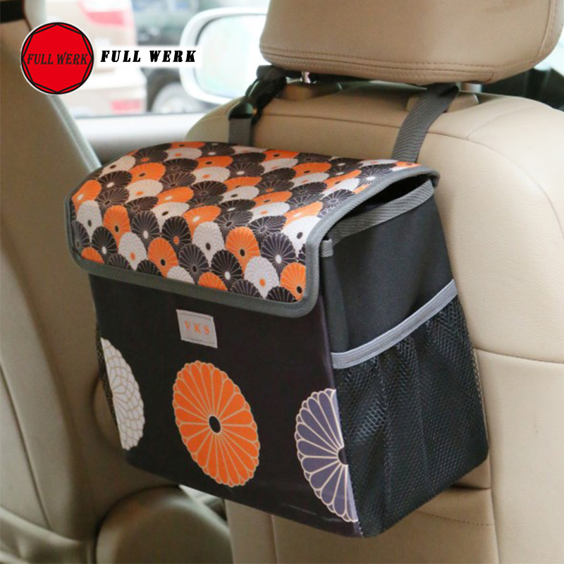 1pc High Quality Oxford Cloth Folding Storage Bag Seat Back Bag Case Container for SUV Car Multi Function Stowing Tidying Access