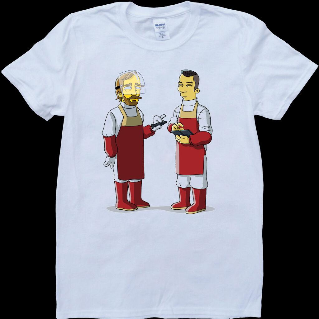 Westworld Cartoon Mens White, Custom Made T-Shirt Stranger Things Design T Shirt 2019 New