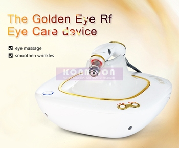 Golden Eyes Eliminate Wrinkles Beauty For Eye Caring And Ark Circles Wrinkle Removal RF Eye Massager Machine