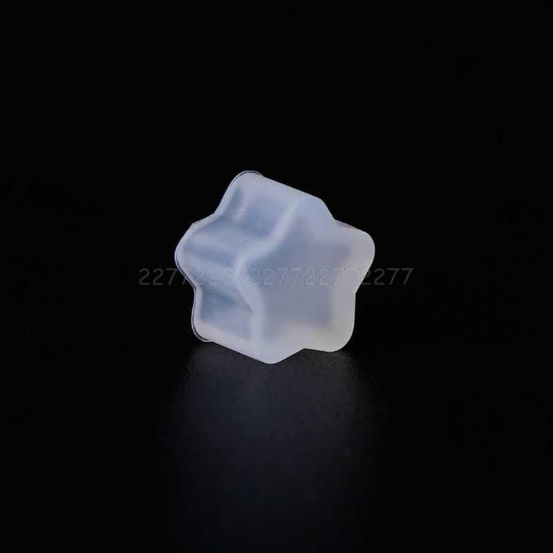 2 шт./компл. силиконовые формы ушные гвоздики DIY ювелирных изделий Снежинка Луна Астра форма мини маленькие формы эпоксидная смола ремесла Je01 19