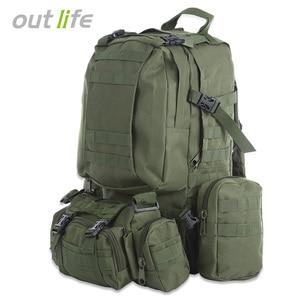 Outlife 50L Military Men Backp