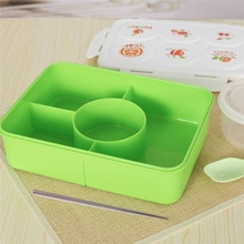 Gesunde Bento Box mit Suppenschüssel Picknick Lunchbox für Kinder