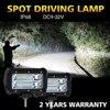 CO LIGHT One Pair 5 72W 144W With LED Chips Light Bar Spot 12V 24V IP68