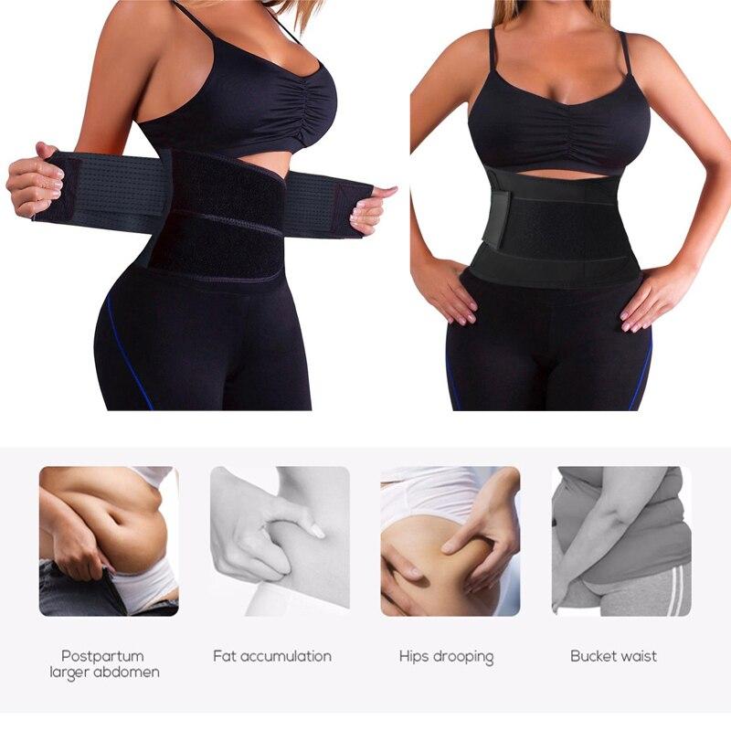 912a19f07d554 2018 Waist Trainer Cincher Man Women Power Hot Body Gym Shaper Girdle Belt  Underbust Control Corset Firm Slimming Waist Support
