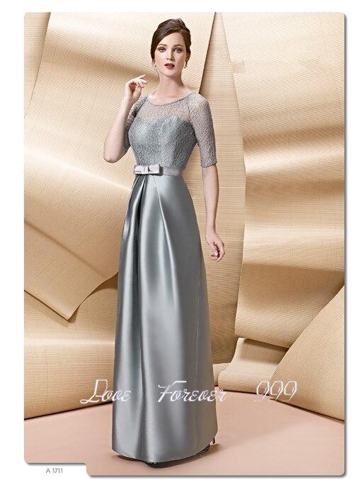 Vestidos de fiesta para bodas de plata