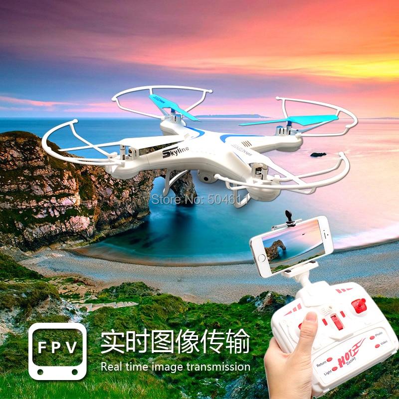 Fineco FX 7ci 2.4 ghz 4ch axis gyro wifi in tempo reale video rc quadcopter ufo fpv con trasmettitore 2.0mp hd macchina fotografica rtf - 3