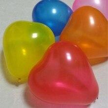 Latex Balloon 100pcs 1.5g Heart Ballons Decors Romantic Wedding Baloon party birthday decoration anniversair