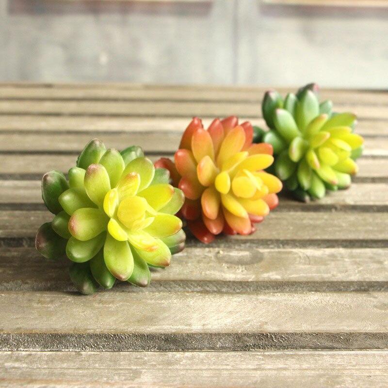 Valley Fashion Cute Lotus Plants Artificial Succulent Plants Landscape Arrangement Garden Decor