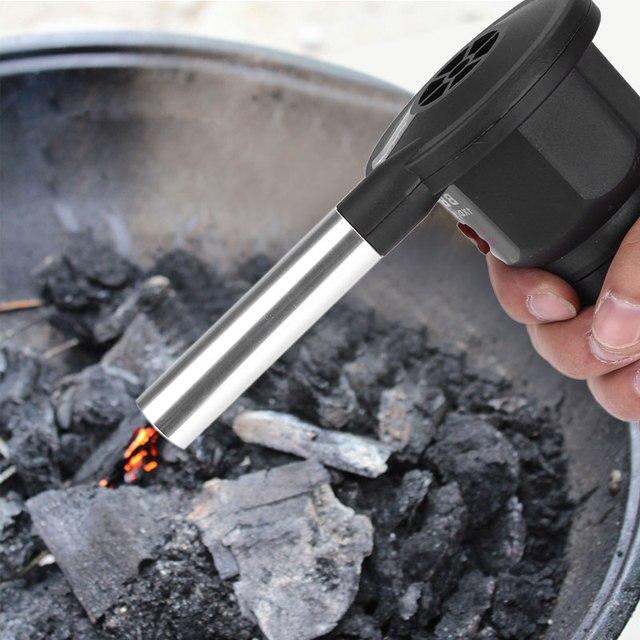 Batteria portatile Alimentato Elettrico BBQ Ventilatore Air Blower per Campeggio