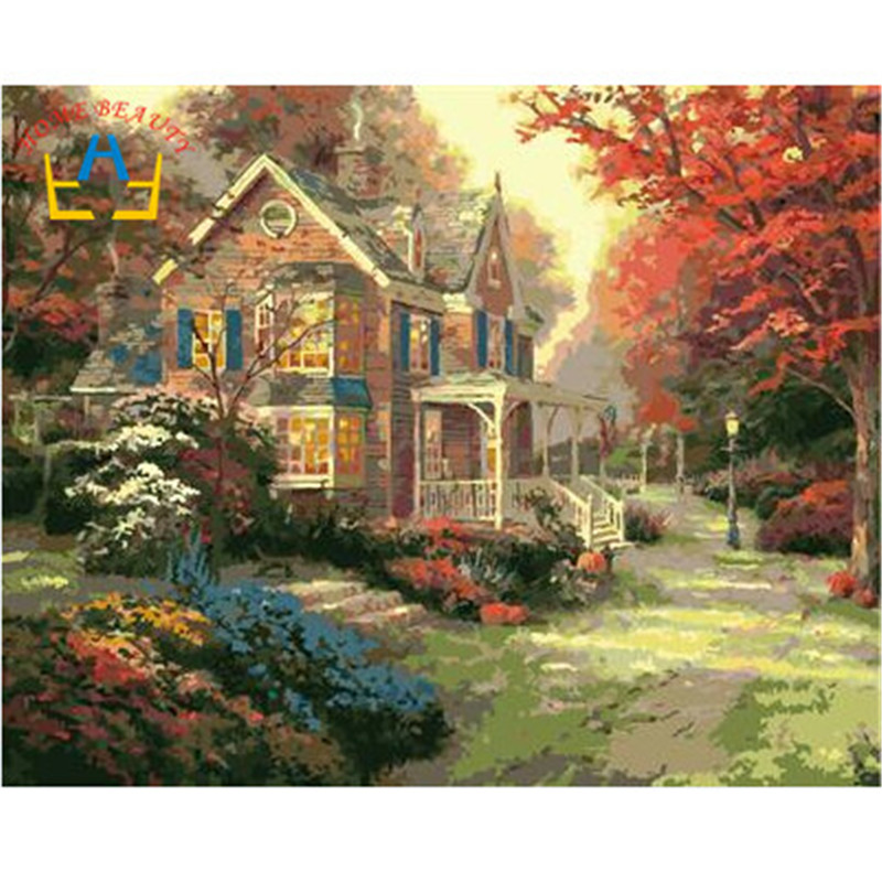 Online buy wholesale dafen art village from china dafen for Oil paintings for the home