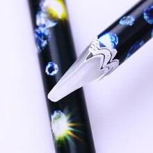 Wax Pen Rhinestone Picker Rhinestones Studs Picker Easily Picking Up Nail Art Manicure Dotting Tools for 3D Nail Decorations