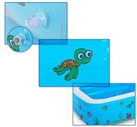 Piscina Gran Piscina Inflable Centro de Juegos De Agua Divertido Juguete del Patio Trasero de La Familia Lounge Niños 110*90*40 CM piscinas