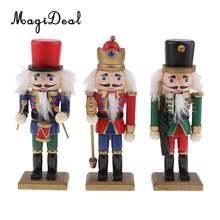 3 шт/компл 15 см деревянный Щелкунчик кукла солдат ремесла кукольные