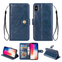 Business leather Flip cover wallet flower phone covers for Apple iPhone 6 cases for iphone XS MAX XR 8 7 plus 6 6s plus case цена в Москве и Питере
