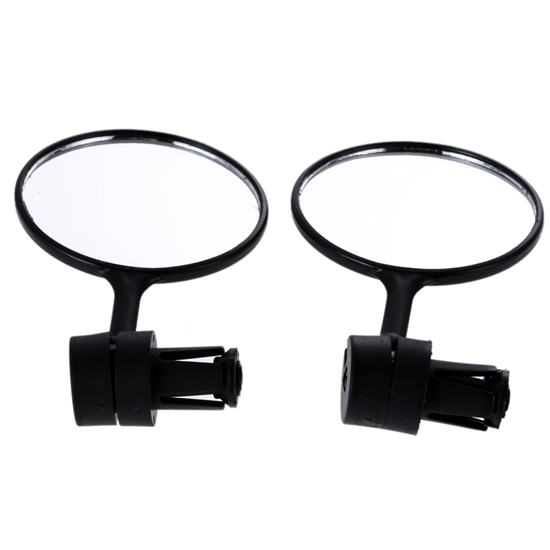 Universal Rotate Cycling Bike Handlebar Wide Angle Rearview Mirror BEST