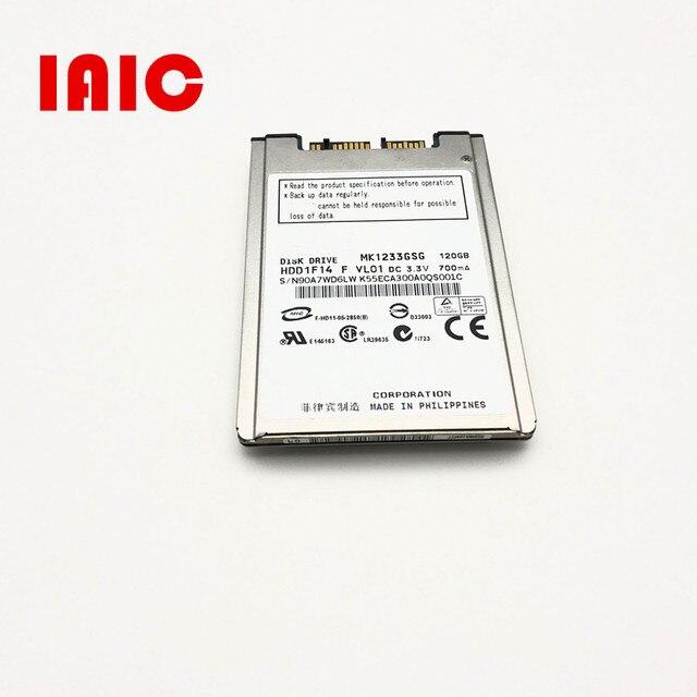 """NEW 120GB HDD 1.8"""" MicroSATA MK1233GSG FOR  2740p 2730p 2530p 2540p  x300 x301 T400S T410S REPLACE MK2529GSG MK1633GSG"""