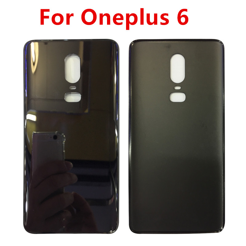 For Oneplus 6 Battery Door Case Back Cover Rear Phone Housing Case For One Plus 6 Replacement Parts For Oneplus 6