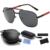 2016 new piloto gafas de sol polarizadas puede ser doblado espejo modelos de explosión directa de fábrica gafas de sol de los hombres gafas de moda
