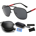 2016 new polarized pilot sunglasses can be folded mirror sunglasses factory direct explosion models men's fashion eyewear