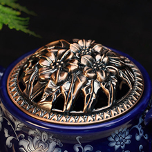 Electronic Temperature Control Incense Burner Holder with Buddha Zen Ceramic Diffuser Aromatherapy Plate Aroma Oil Burner