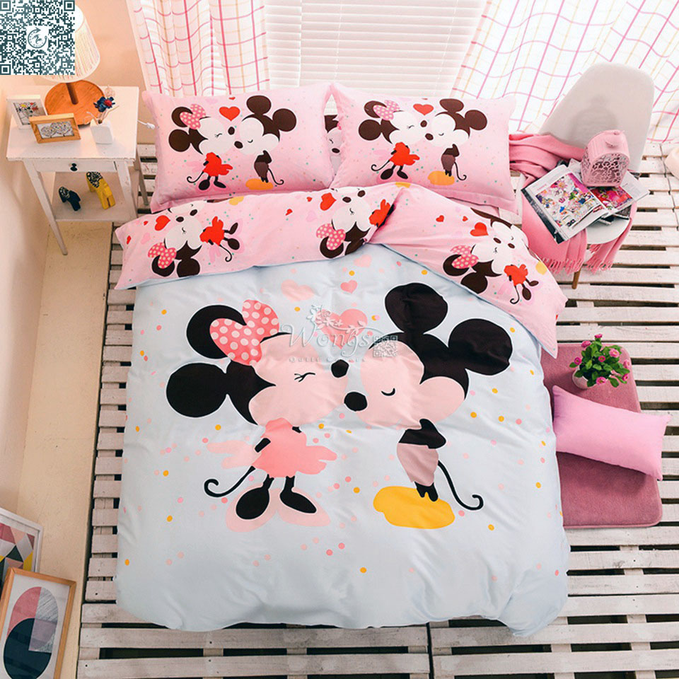 Popular Minnie Bedding Set Buy Cheap Minnie Bedding Set Lots From China Minnie Bedding Set