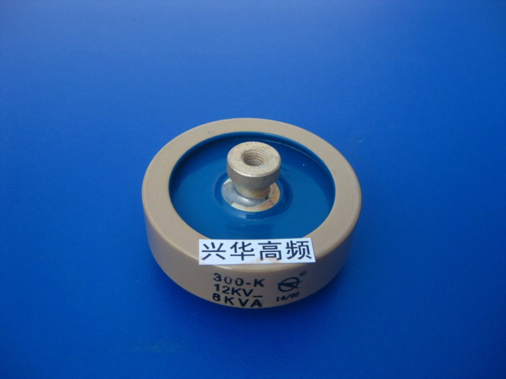 Round ceramics Porcelain high frequency machine  new original high voltage 300-K 12KV 8KVA  цены