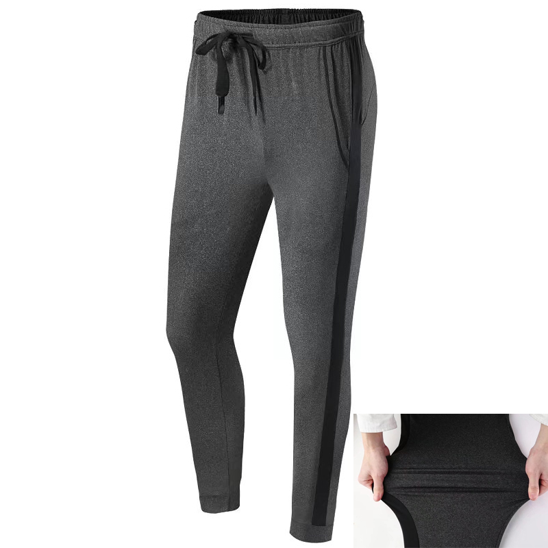 High Elastic Running Pants Men Compression Tight Sportswear Gym Training Sports Trousers Leggings Quick Dry Mens Sports Pant