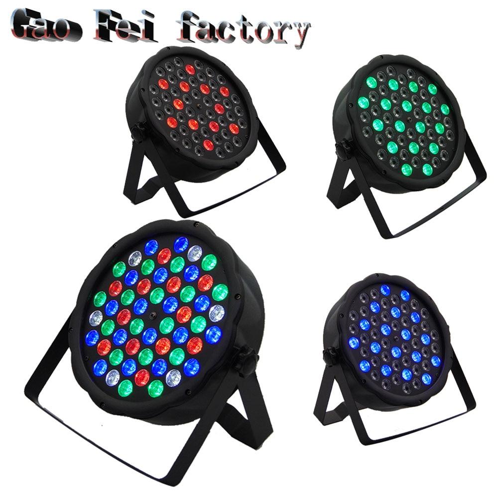 4pcs/lot PAR64 DMX512 Stage Show  54x3w RGBW LED Par light DJ4pcs/lot PAR64 DMX512 Stage Show  54x3w RGBW LED Par light DJ