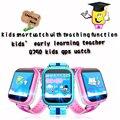 Lemado Q750 Baby smart watch Sim/TF поддержка карт wifi GPS SOS Вызова Расположение для Малыш Сейф Анти-Потерянных Детей часы