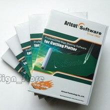 Artcut Wentai профессиональная вывеска программное обеспечение для резки плоттера винил гравер резак ARTCUT 2009 с 9 языками