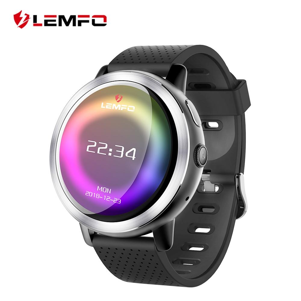 LEMFO LEM8 4 г Смарт часы Android 7.1.1 gps Smartwatch для мужчин 2 Гб 16 580 мАч батарея 1,39 дюймов AMOLED экран спортивные