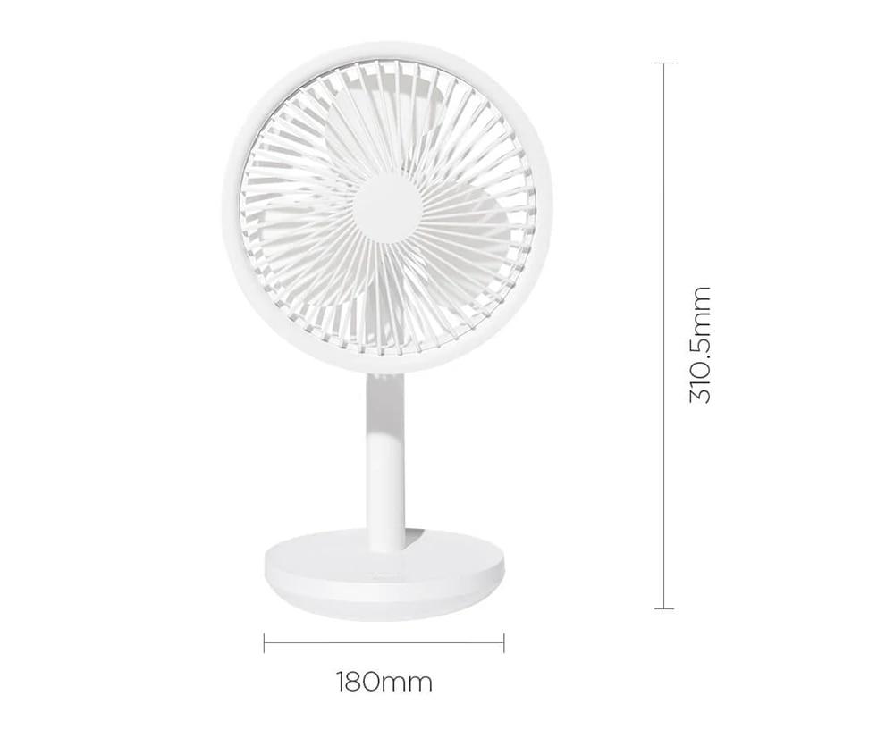 Xiaomi Solove Desktop Fan size
