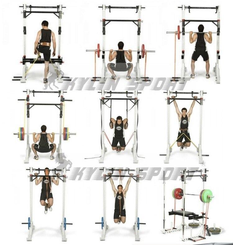 4.4cm Green Width Gym Premium Latex Træk op Body Bands CrossFit Loop - Fitness og bodybuilding - Foto 6