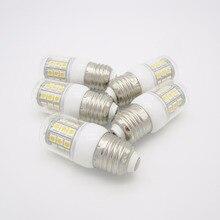 20 шт./лот 85-265VAC светодиодный лампы E27 база светодиодный Кукуруза лампы 24 светодиодный SMD5050 3,5 Вт светодиодный лампы в форме свечи лампы WW 3000K PW 6000K