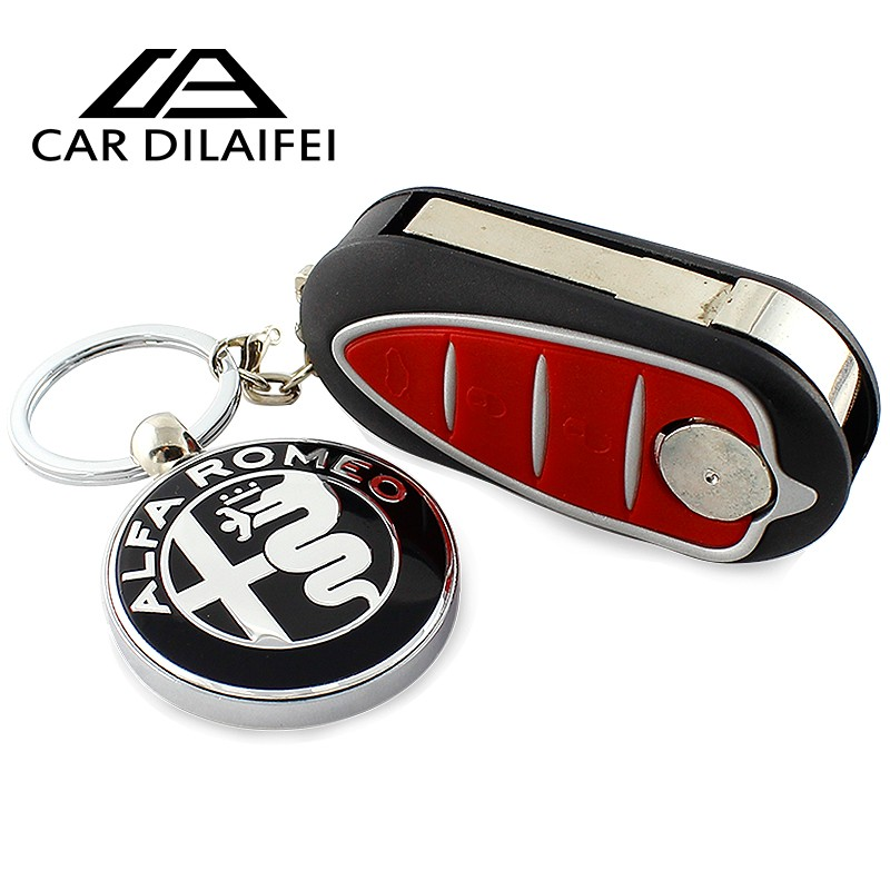1pcs 3D Car Alfa Romeo Keychain Key Pendant Best Gift
