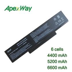 ApexWay akumulator do laptopa A32 F3 90 NIA1B1000 90 NI11B1000 dla Asus A9 F2 F2F F2J F3 F3E F3F F3H F3J F3L F3P F3Q F3T F3U F3SA w Akumulatory do laptopów od Komputer i biuro na