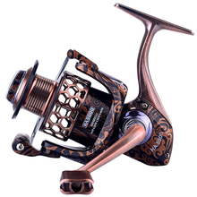 YUYU Qualità full metal Bobina di Pesca di filatura 1000 2000 3000 4000 5000 7000 bobina di filatura per la pesca alla carpa bobina di filatura