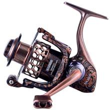 Yuyu qualidade carretel de pesca de metal cheio fiação 1000 2000 3000 4000 5000 7000 molinete para a pesca da carpa molinete