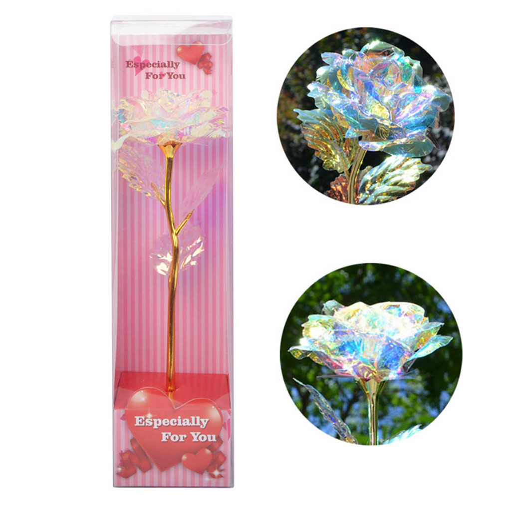 Galaxy Rose Flower Valentine/'s Day Lovers/' Gift Romantic Flowers Love Base 2020