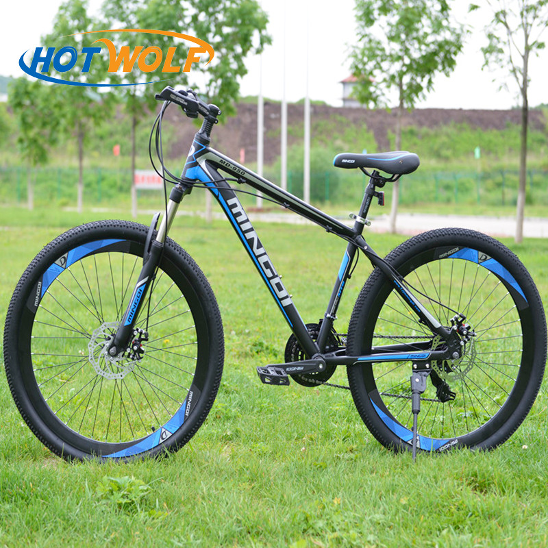 Mountain bike 27.5*2.125 inch aluminum alloy frame 24 speed bicycle dual disc brakes and variable speed road bike bikesMountain bike 27.5*2.125 inch aluminum alloy frame 24 speed bicycle dual disc brakes and variable speed road bike bikes