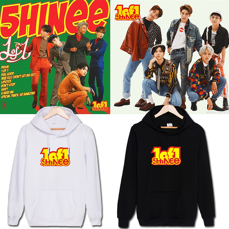 The SHINee five series of 1 around the support of Thai people Kim Jonghyun Li Zhenji jacket with Kibum hooded winter